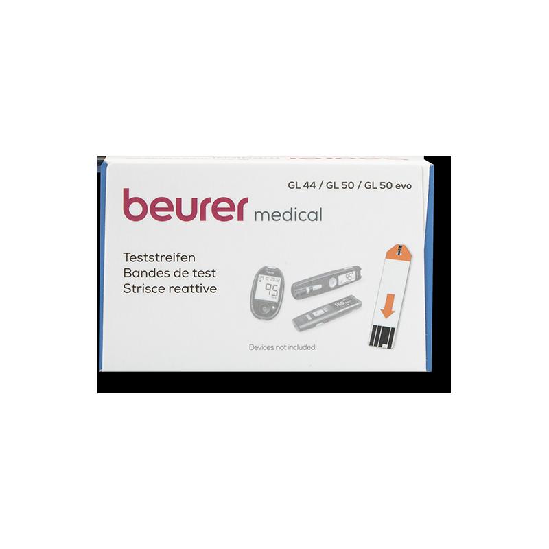 beurer GL44/50/50evo einzeln Blutzucker-TS 50 Stück