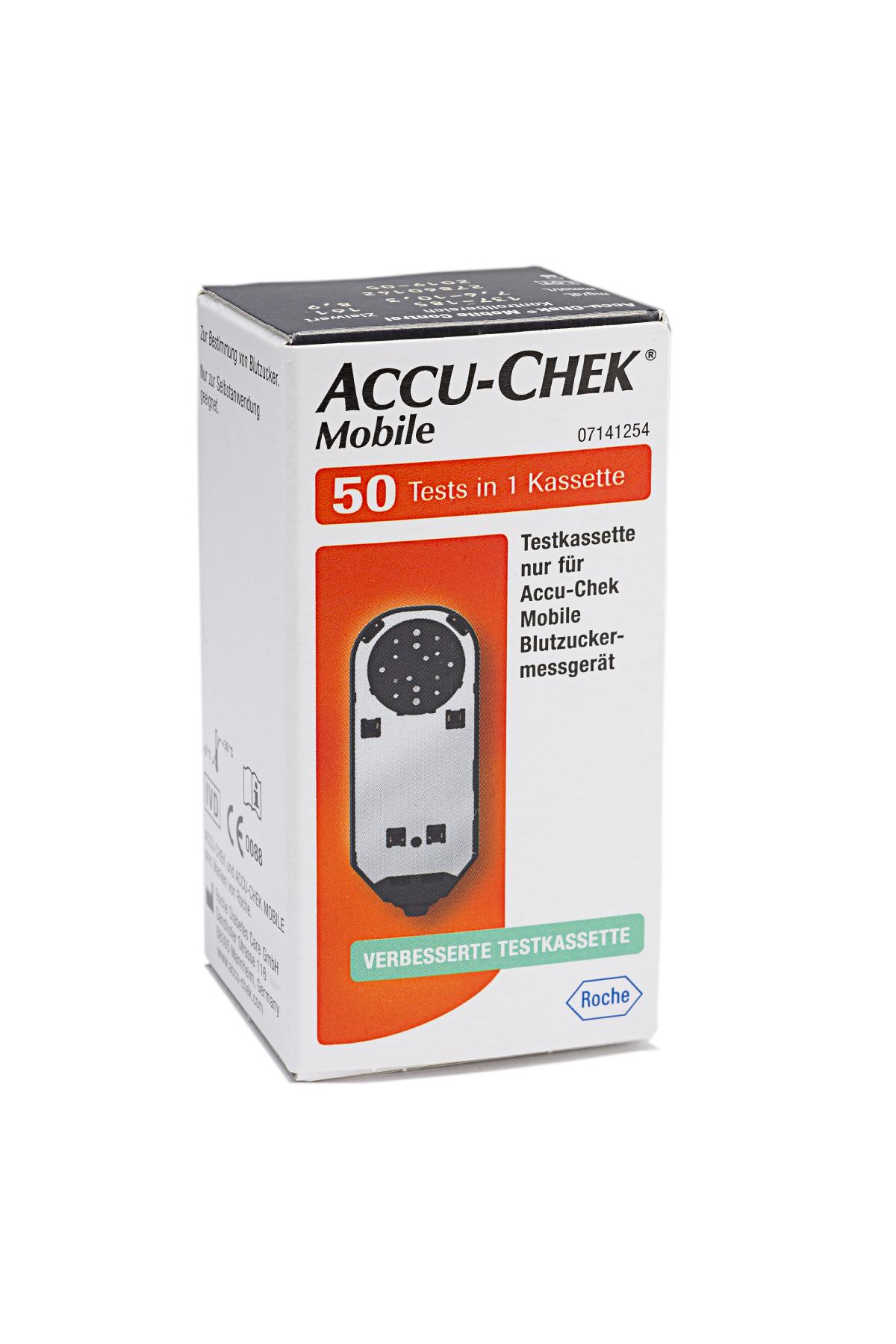 Accu-Chek Mobile Testkassette 50 Stück