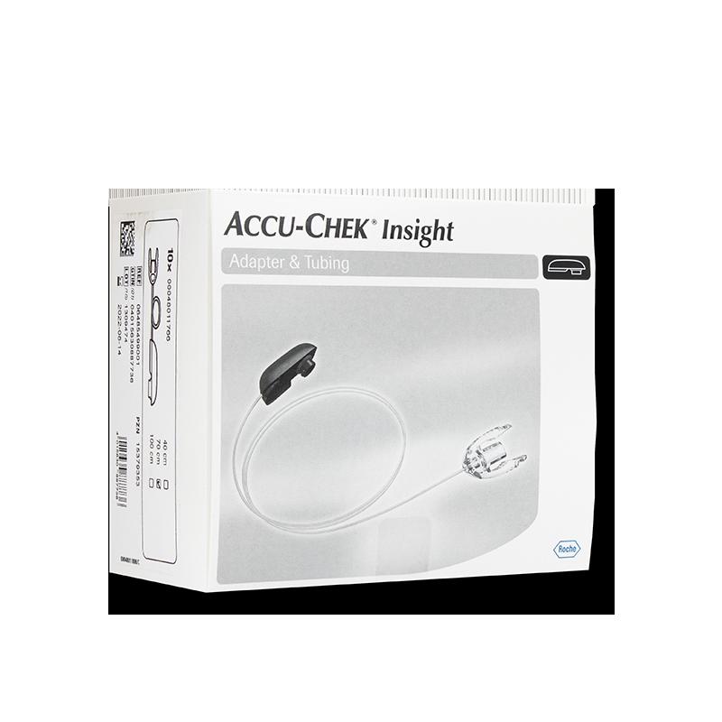 Accu-Chek Insight Adapter und Schlauch 70cm 10 Stück