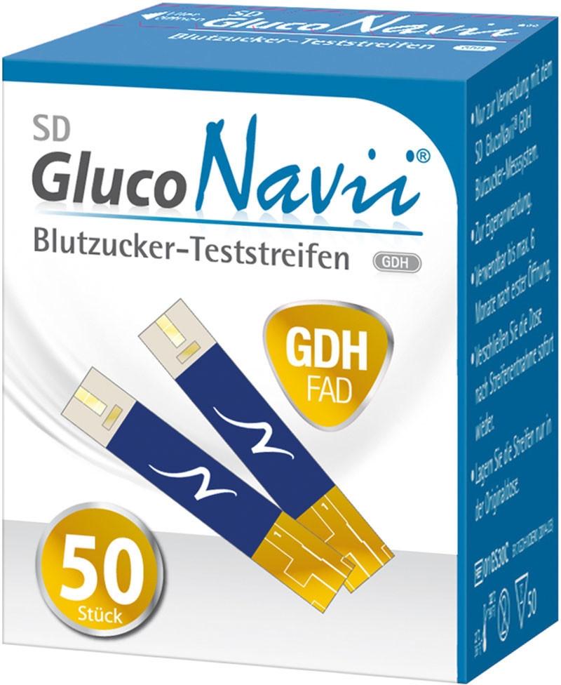 Gluco Navii GDH Blutzucker-TS 50 Stück