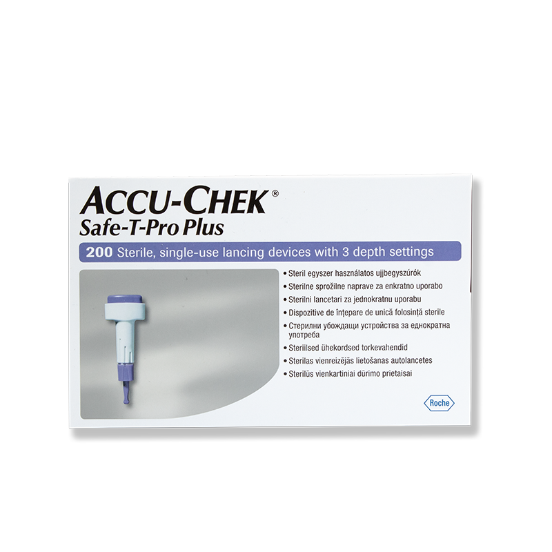Accu-Chek Safe-T-Pro Plus Sicherheitslanzetten 200 Stück