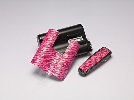 MiniMed Motiv Klebefolie für 640G pink