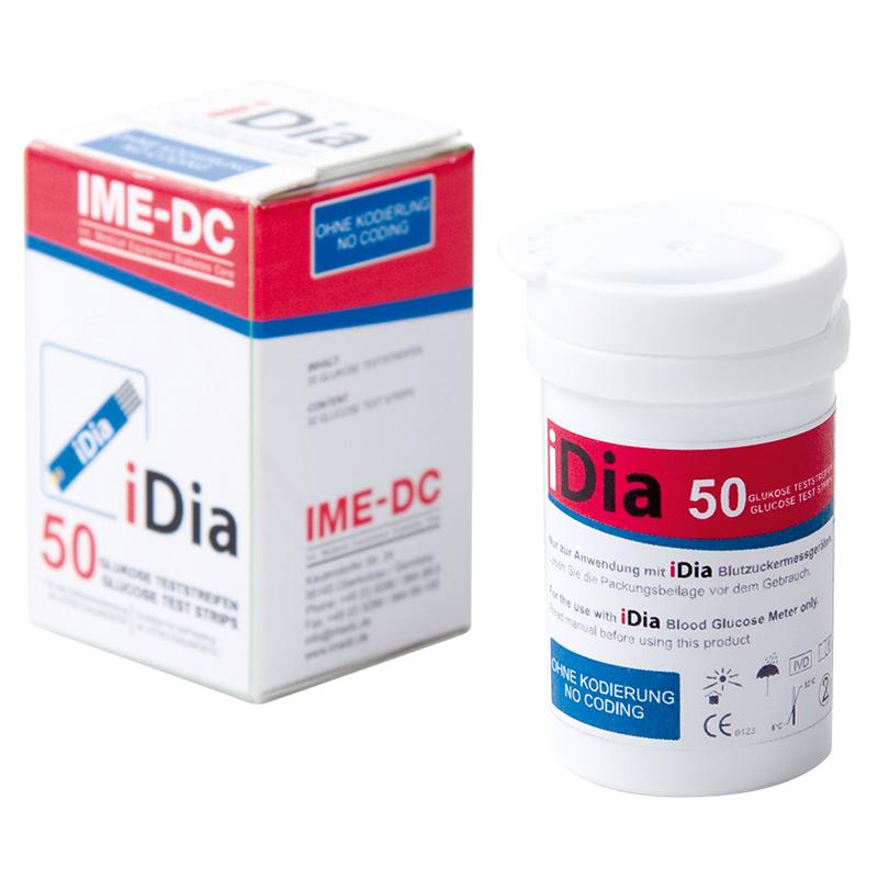 IME-DC iDia Blutzucker-TS 50 Stück