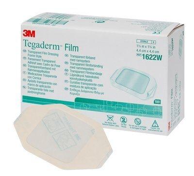 Tegaderm Film 1623W 6 x 7cm 100 Stück