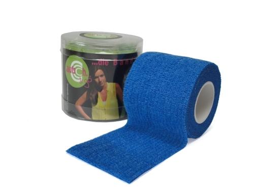 autsch&go Fixiertape 7,5cm x 4,5m blue