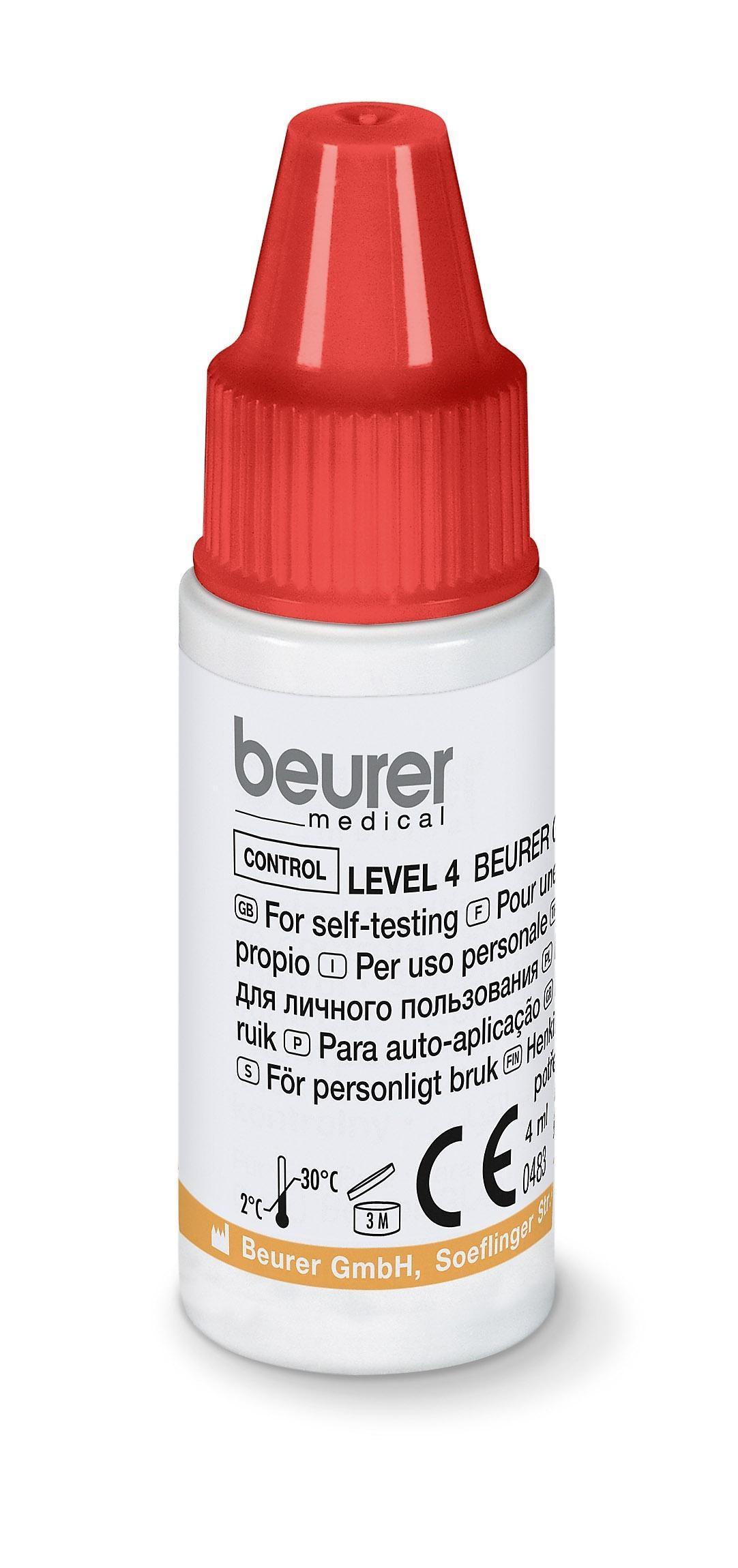 beurer GL44/50 Kontrolllösung 3+4 2 x 4ml