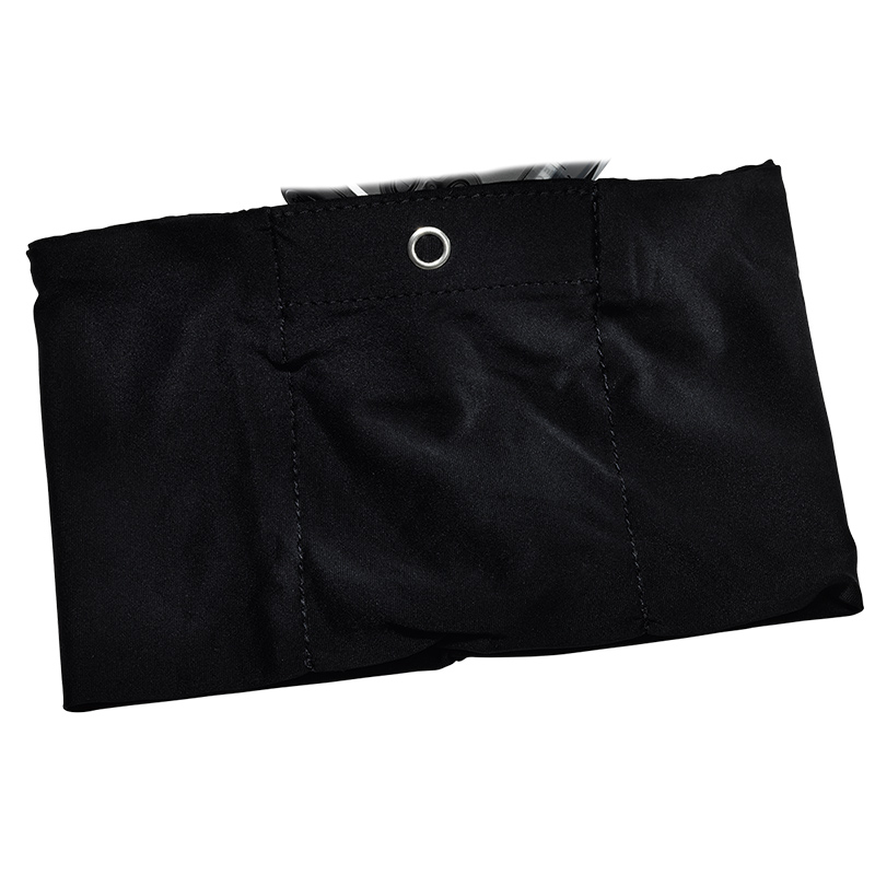 Accu-Chek Combo/Insight Trageband Oberschenkel L schwarz