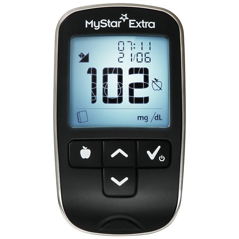 MyStar Extra Set mg/dl