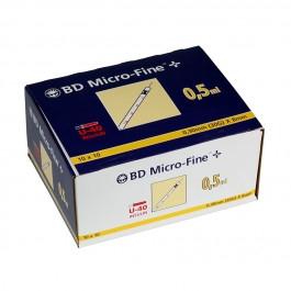 BD Micro-Fine+ U40 0,5ml 8mm 100 Stück
