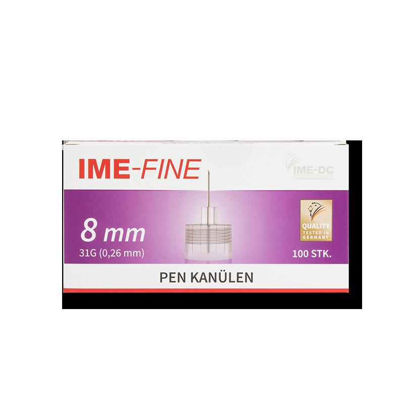 IME-Fine Pen-Nadeln 31G 8mm 100 Stück