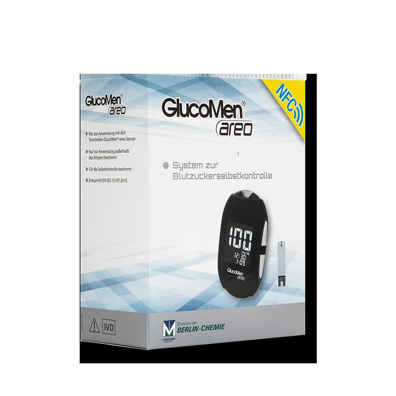 GlucoMen areo Set mmol/l