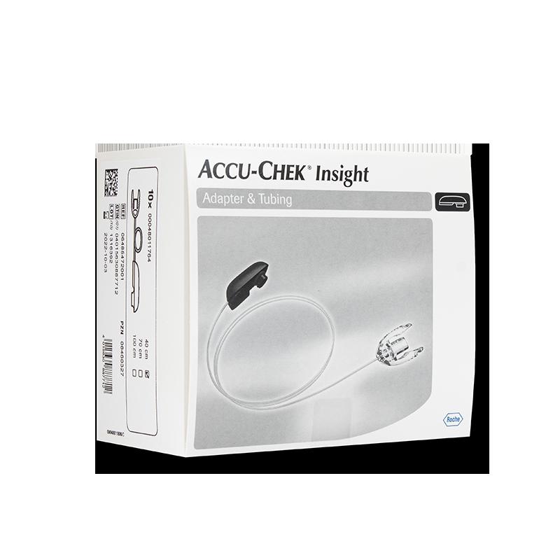 Accu-Chek Insight Adapter und Schlauch 40cm 10 Stück