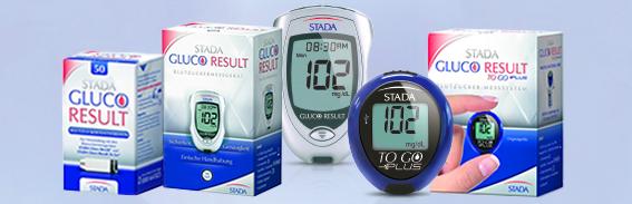 STADA Gluco Result Blutzucker-TS 50 Stück