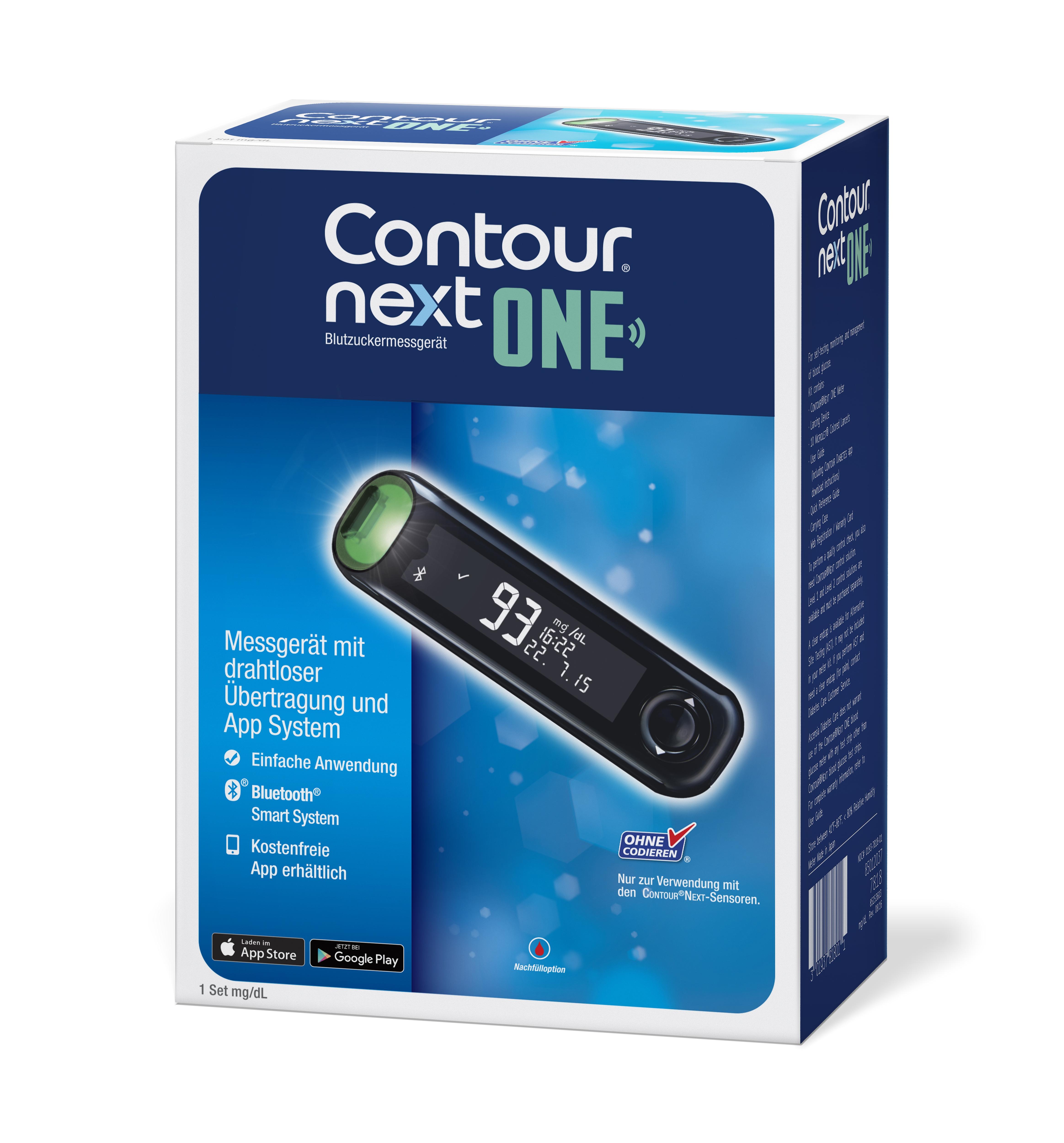 Contour next ONE Set mg/dl
