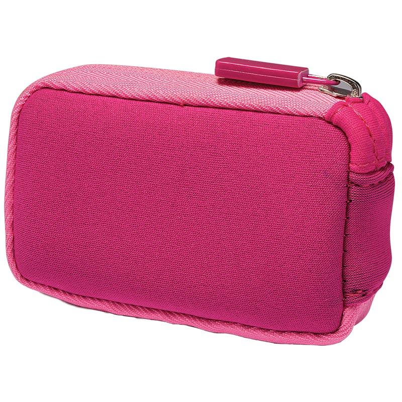 MiniMed Neopren-Tasche mit Reißverschluss pink