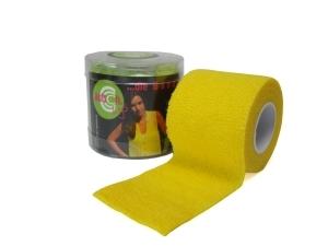 autsch&go Fixiertape 7,5cm x 4,5m yellow