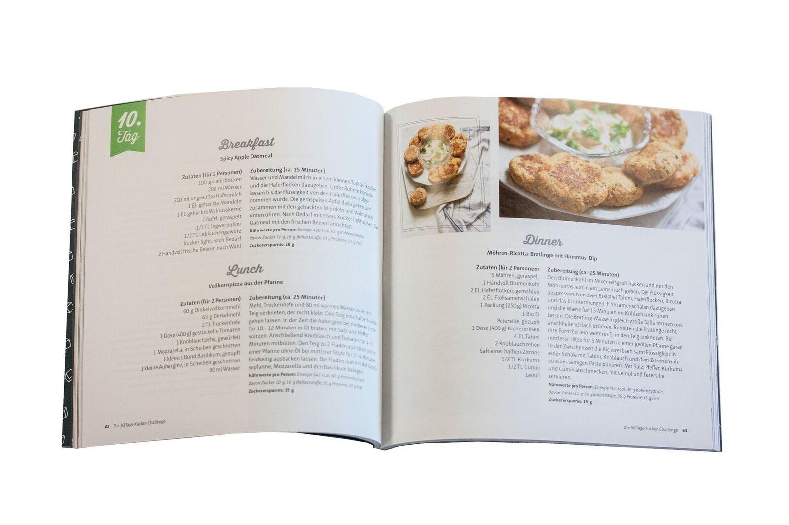 Die 30 Tage Xucker Challenge Rezeptbuch