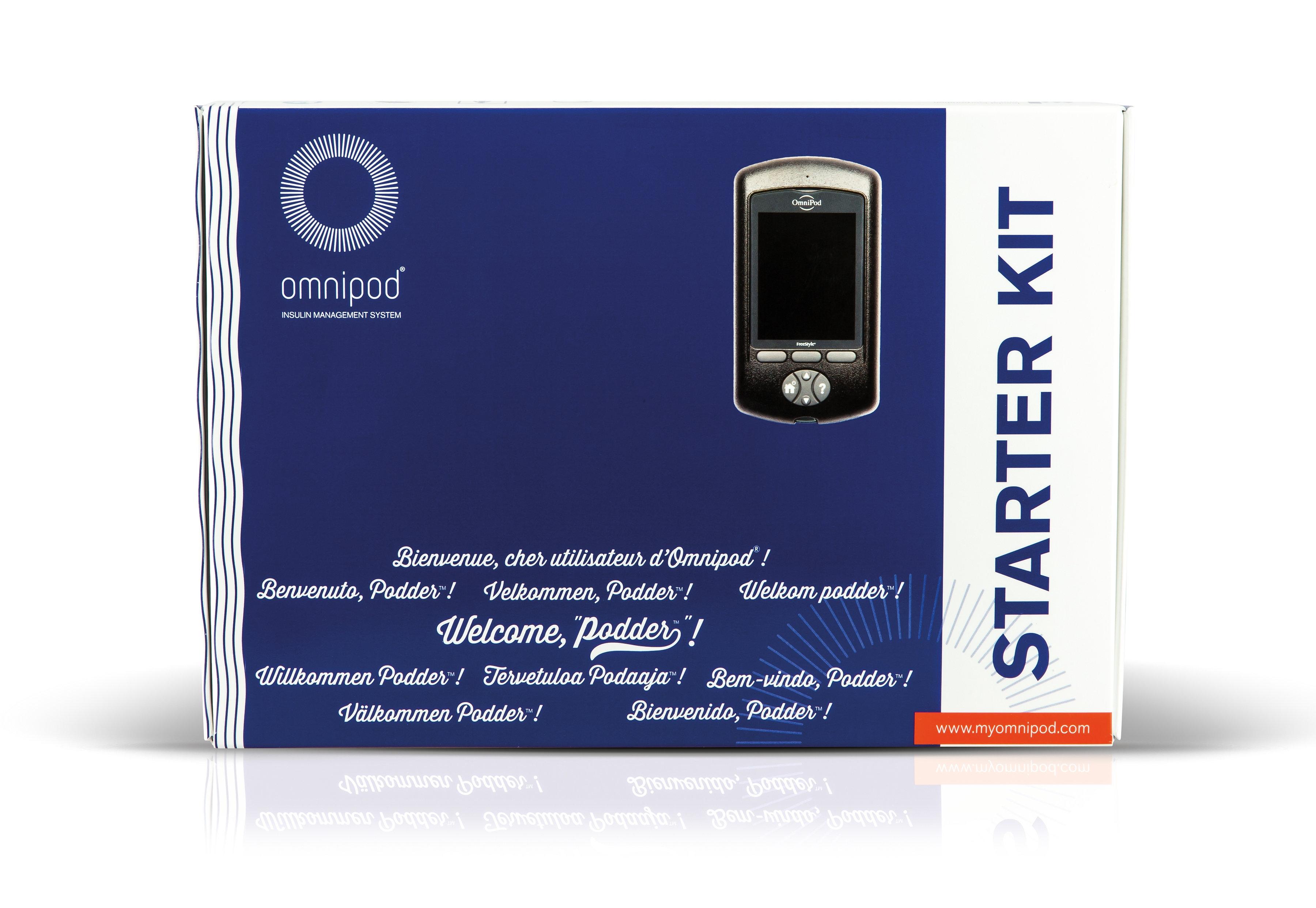 Omnipod EROS PDM Starterkit mmol/l