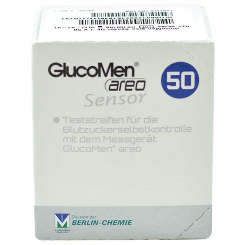 GlucoMen areo Blutzuckersensoren 50 Stück