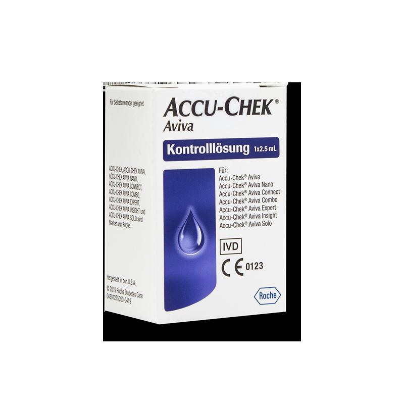 Accu-Chek Aviva Kontrolllösung 2,5ml