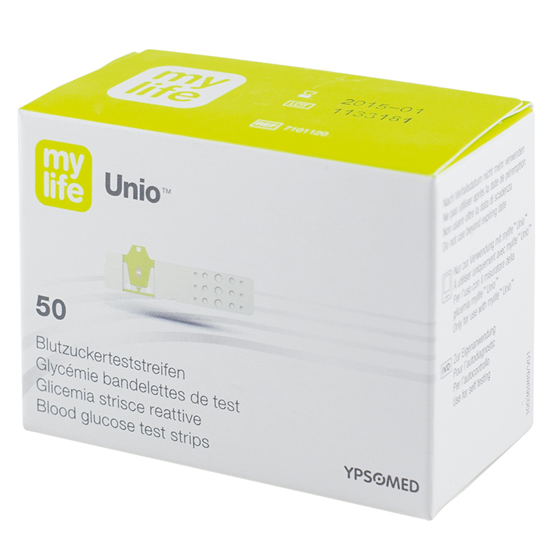 mylife Unio Blutzucker-TS 50 Stück