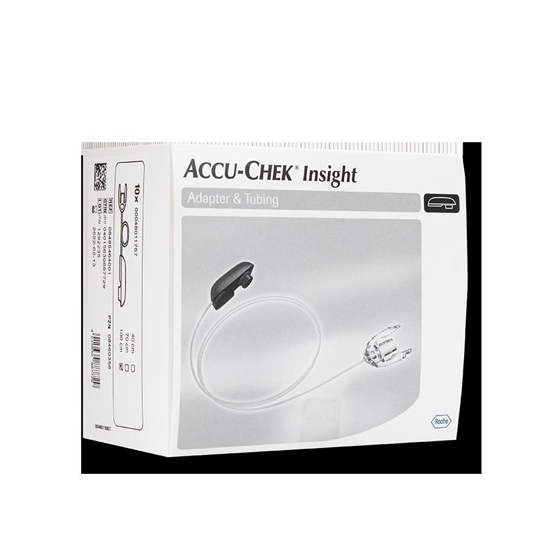 Accu-Chek Insight Adapter und Schlauch 100cm 10 Stück