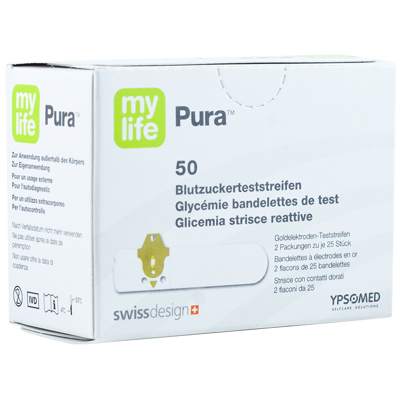 mylife Pura Blutzucker-TS 50 Stück