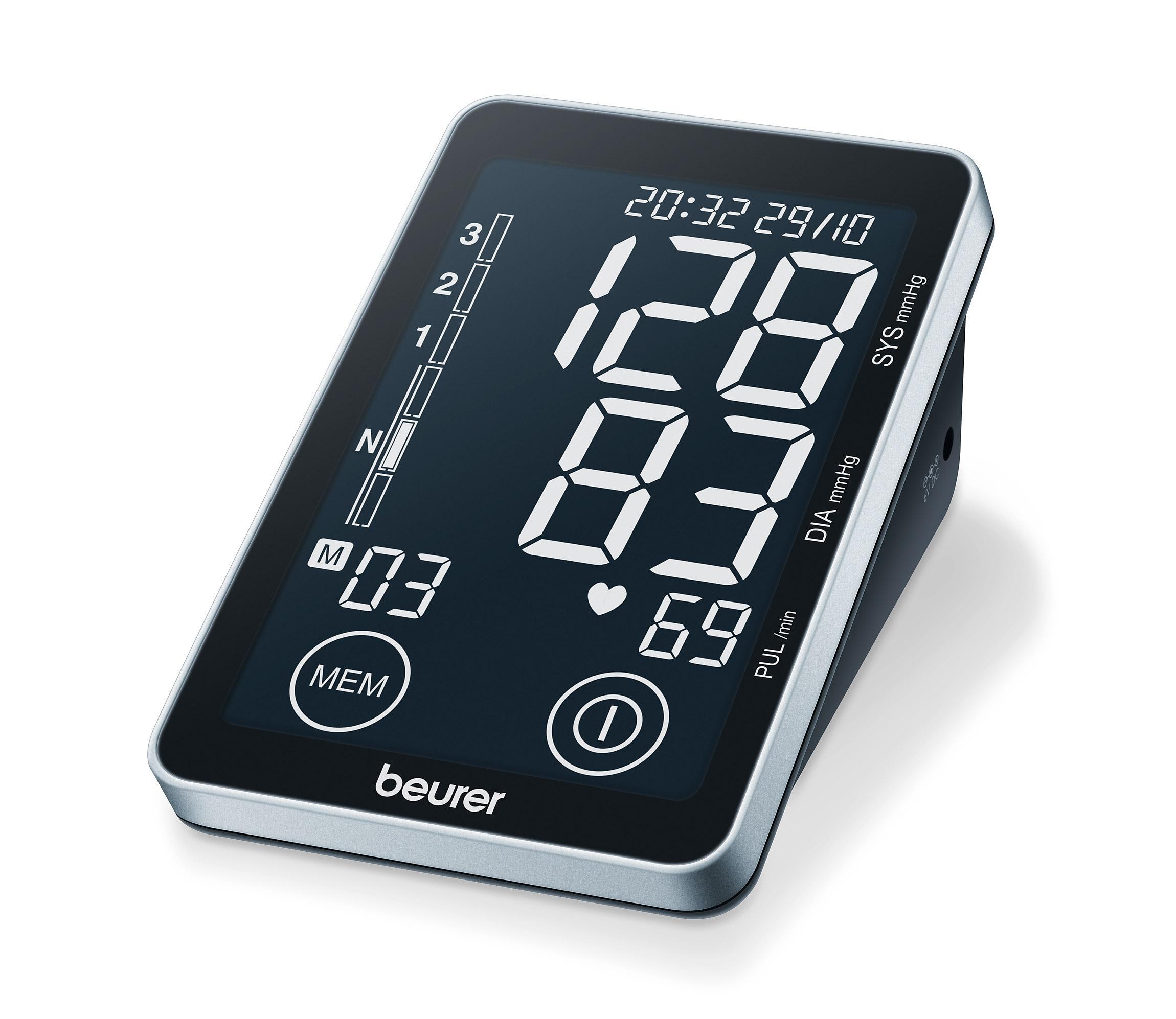 beurer BM58 Oberarm-Blutdruckmessgerät mit Software