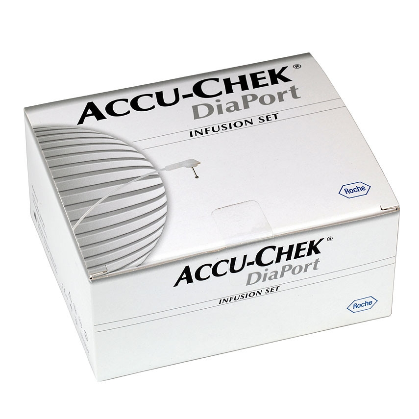 Accu-Chek DiaPort Infusionsset 70cm 10 Stück