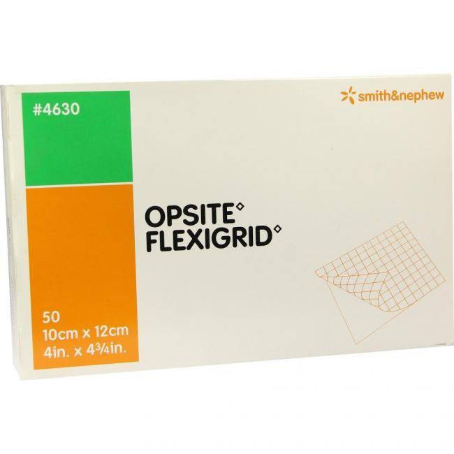 OPSITE Flexigrid steril 10 x 12cm 50 Stück