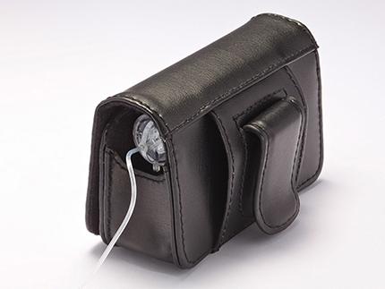 MiniMed Ledertasche mit Clip