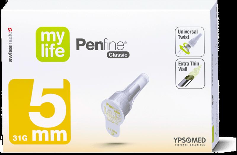 mylife Penfine Classic 31G 5mm 100 Stück
