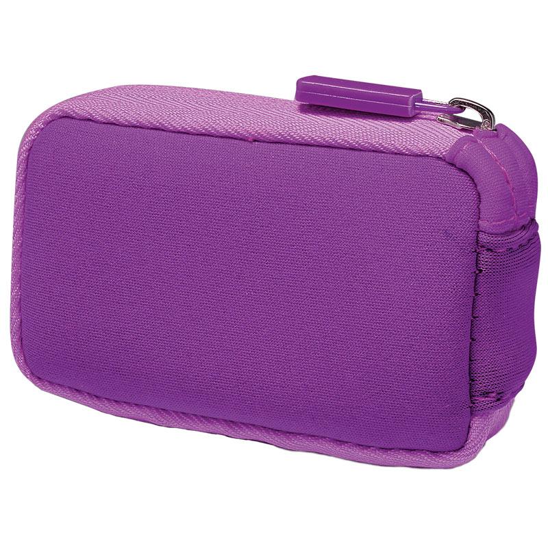 MiniMed Neopren-Tasche mit Reißverschluss lila