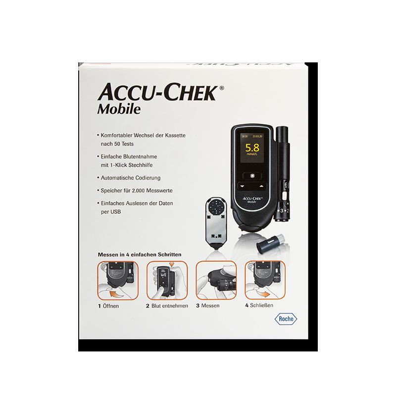 Accu-Chek Mobile Set mmol/l