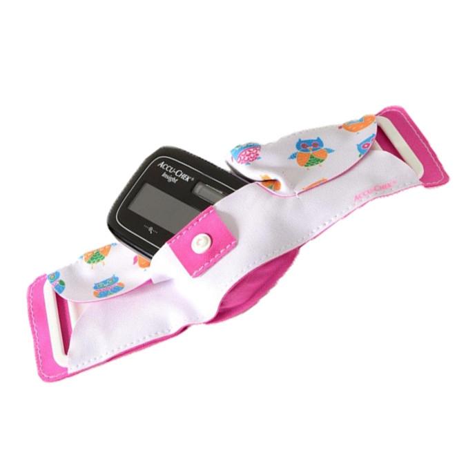 Accu-Chek Insight Bauchtasche Kinder pink