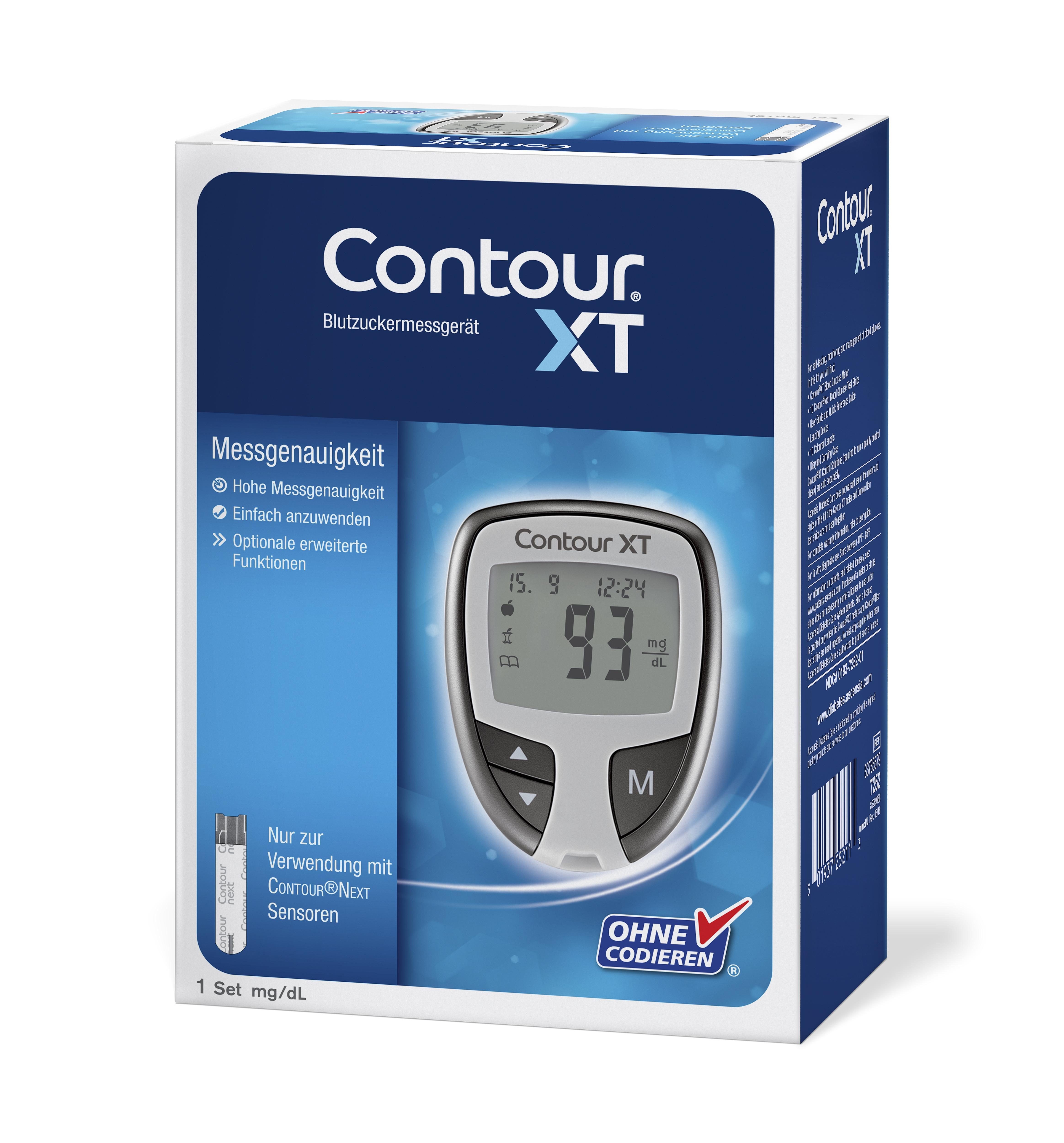 Contour XT Set mg/dl