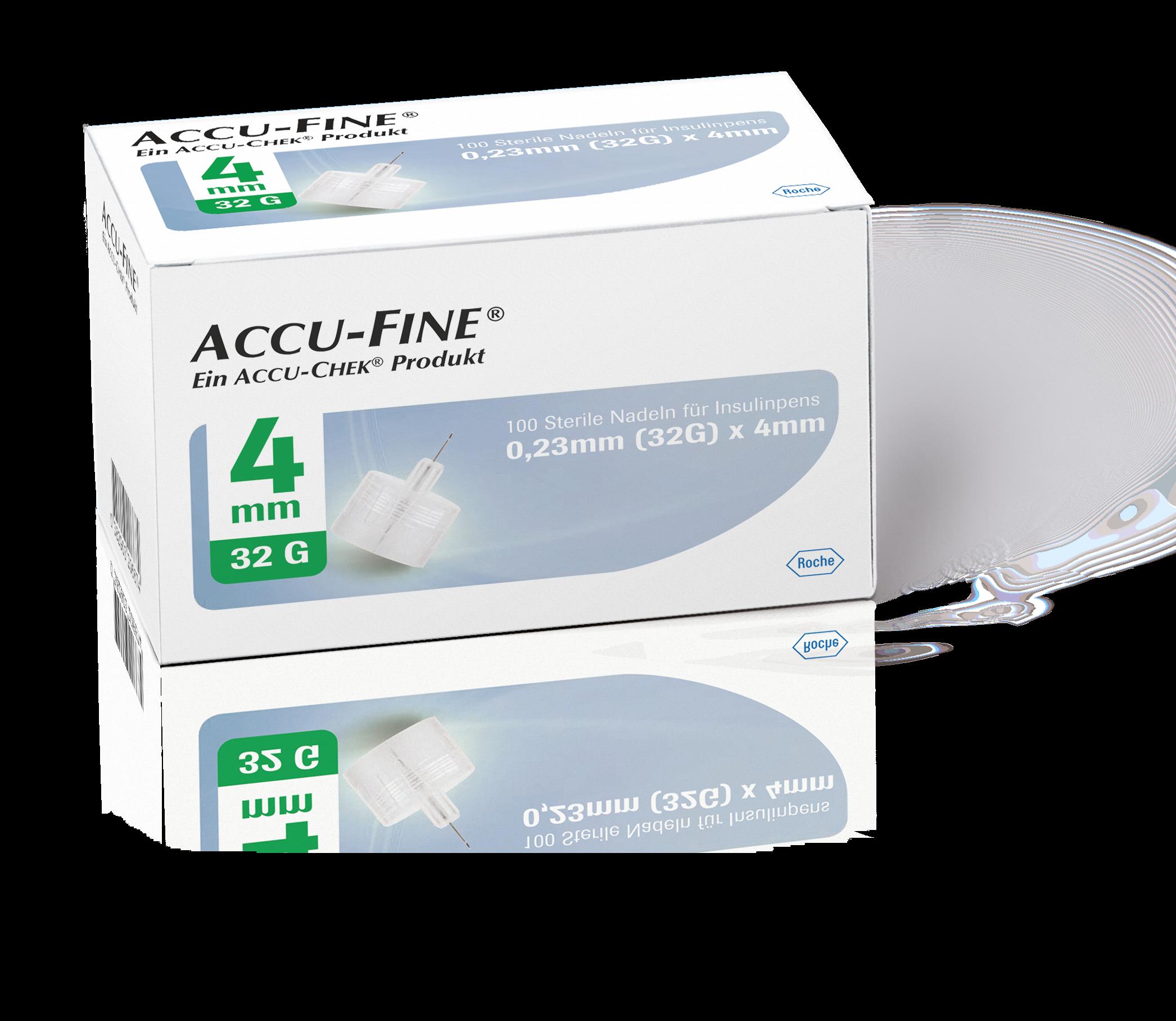 Accu-Fine Pen-Nadeln 32G 4mm 100 Stück